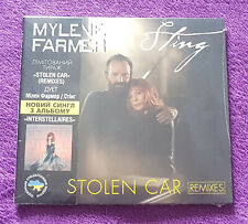 MYLENE FARMER Stolen Car REMIXES CD Single Edition limitee Ukraine très rare neu