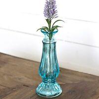 """Blue Cottage Glass 8"""" Vase"""