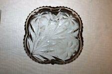 Pairpoint Viscaria American Brilliant Cut Glass Hinged Dresser Handkerchief Box