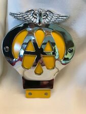 AA Car Motorcycle Scooter Badge New Remade to Concours Spec Superb Chrome Etc