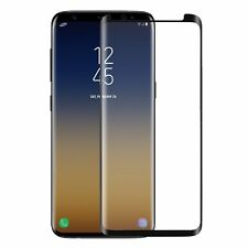 Samsung Galaxy S9 Tempered Glass Scratch Resistant Screen Protector Black