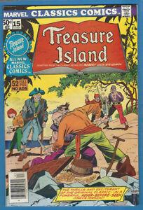 Marvel Classics Comics 15 Treasure Island High Grade Robert Louis Stevenson