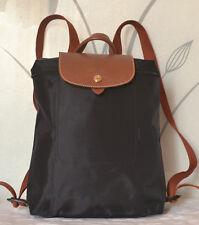 New Longchamp Le Pliage Backpack Black