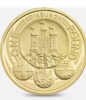 RARE EDINBURGH £1 ONE POUND 1 COIN 2011 CAPITAL CITY CITIES COIN HUNT FREE POST!