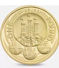 Edinburgh one pound coin rarest capital city no longer in circulation free post