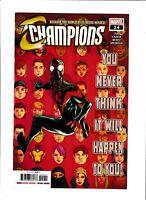 Champions (2016) #24 NM- 9.2 Marvel Comics,Miles,Hulk; $4 Flat-Rate Shipping!