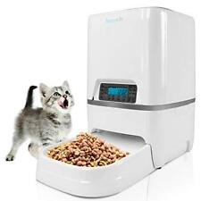 SereneLife Electronic Digital Automatic Pet Feeder/ Meal Dispenser w/ Mic