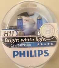PHILIPS H11 CRYSTAL VISION UPGRADE BULBS H11 CRYSTAL VISION PHILIPS + W5W 4300k