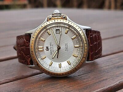 Raymond Weil Parsifal 18k Gold Automatic Men's Wrist Watch Herren Armbanduhr