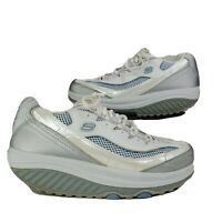 Sketchers Shape-Ups White Jump Start 11803 Walking Toning Shoes Women's Size 8.5