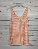 J.Crew Women's S Small Peach Sleeveless Cute Spring Summer Top Tank NEW TAGS