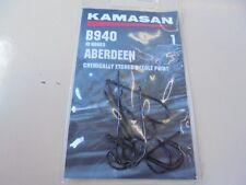 Kamasan aberdeen b940 sea fishing hooks chemically etched needle point 1