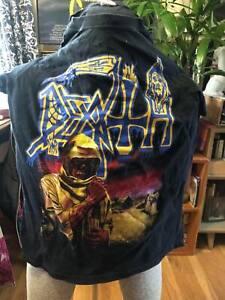 DEATH-Leprosy vintage mens S black T shirt  metal thrash