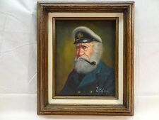 PELLON - THE CAPTAIN - ORIGINAL OIL ON CANVAS