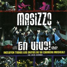 MASIZZO EN VIVO CD & DVD FREDDIE RECORDS INTOCABLE SIGGNO SOLIDO RARE TEJANO OOP
