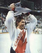 Wayne Gretzky Hoists Canada Cup - 1987, 8x10 Photo