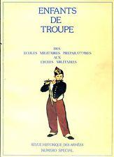 ENFANTS DE TROUPE - Revue Historique des Armées 1985 - Armée française
