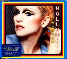 CDM - MADONNA - HOLLYWOOD CD 2 RMXS (DISCO) NUEVO - MINT !!!