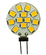 Placa Plana LED 2W G4 Redonda Luz Bombilla 4000k 12V luz del punto