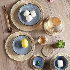 Woven Fabric Placemats Table Setting Place Mats Dining Room Decor PF