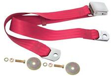 1967-74 Camaro, 64-72 GTO Seat Belt w/ Lift Buckle Latch 60-Inch Dark Red Dii