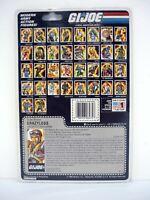GI JOE CRAZYLEGS FILE CARD Vintage Figure FULL / UNCUT / AWESOME SHAPE 1987