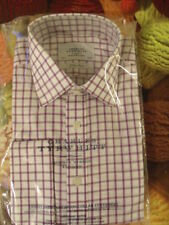 Charles Tyrwhitt Check Double Cuff Formal Shirts for Men