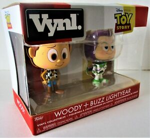 Funko Disney Pixar Toy Story Woody and Buzz Vynl Figures 2-Pack New In Package!!