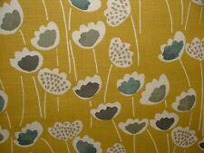 Prestigious Textiles Saffron Clara Scandi Floral Curtain Upholstery Blind Fabric