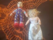 """Chucky Doll 13""""And BRIDE OF 13""""Child's Play plush from Toyworks"""