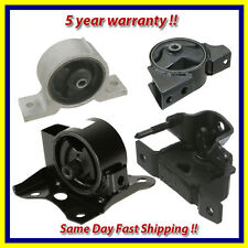 Engine Motor & Trans. Mount Set 4PCS. for 2000-2006 Nissan Sentra 1.8L for Auto.