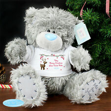 Me To You Personalised CHRISTMAS Tatty Teddy Bear - Official Licensed Product