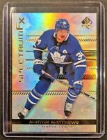 2019-20 SP Authentic AUSTON MATTHEWS Spectrum FX #S-8 Unscratched Maple Leafs