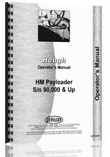 Operators Manual Hough Hm Pay Loader