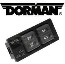 For GMC K2500 Chevrolet K1500 Four Wheel Drive Selector Switch Dorman 901-130