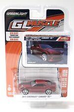 1:64 Greenlight Chevrolet Camaro SS 2011 Red/Black New chez Premium-modelcars