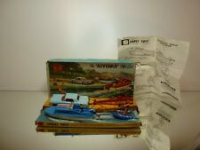 CORGI TOYS GS31 BUICK RIVIERA with TRAILER + WATER SKIER - VERY GOOD IN BOX