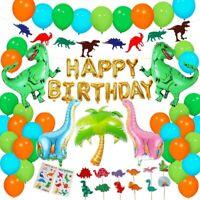 Dinosaur Birthday Decor Dino Baby Shower Balloon Banner Kit