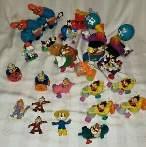 Lot of 24 Animaniacs & Rescue Rangers McDonalds Happy Meal Toys 90's Vintage
