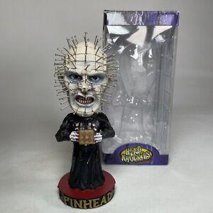 "NECA Head Knockers 7"" Hellraiser Pinhead Bobblehead Horror Movie Action Figure"