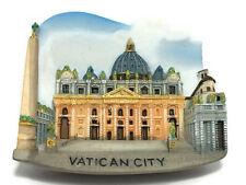 VATICAN CITY ITALY SOUVENIR RESIN 3D FRIDGE MAGNET SOUVENIR TOURIST GIFT TOY 030
