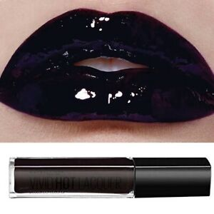 Maybelline Black Purple Lip Gloss Lipstick Vivid Hot Lacquer Slay It 82