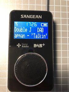 Sangean Digital Radio DAB and FM - pocket sized
