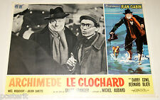 fotobusta originale ARCHIMEDE LE CLOCHARD Jean Gabin Gilles Grangier 1959 #10