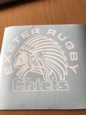 Exeter Chiefs Rugby Auto Moto 4x4 Ventana Carrocería Pegatina de Vinilo Calcomanía Parachoques 4x4