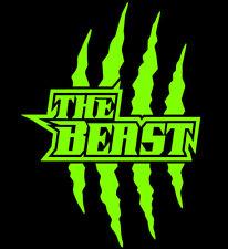 2x Monster Kralle Sticker Aufkleber Motorrad Auto JDM OEM Devil Tuning g