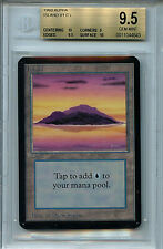 MTG Alpha Island BGS 9.5 Gem Mint Magic Land Card Amricons 4643