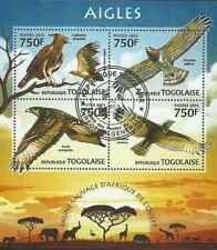 Timbres Oiseaux Rapaces Togo 3116/9 o année 2013 lot 23338 - cote : 18 €