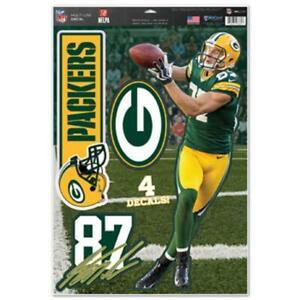 Green Bay Packers Nelson 11x17 Multi Use Ultra Decal Set [NEW] Sticker Emblem