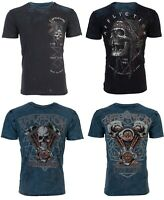 Affliction Short Sleeve REVERSIBLE T-Shirt Mens PRAIRIE STORM Black S-3XL NWT